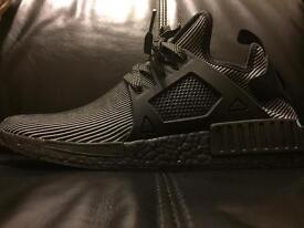 Adidas NMD XR1 Triple Black PrimeKnit UK size 9