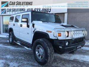 2007 Hummer H2 LEATHER-SUN ROOF-NAVI