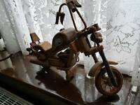 Harley Davidson wooden motorbike swap for Xbox 360 games or cash