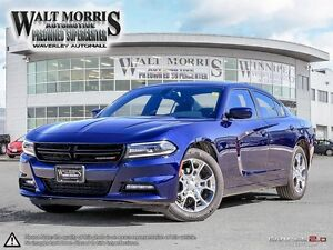 2016 Dodge Charger SXT PLUS- AWD, LEATHER, HEATED SEATS