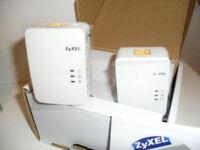 HD POWERLINE ADAPTERS ,,ZYXEL,,