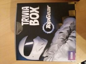 Top gear trivia box. Never used, ideal stocking filler