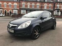 2007 VAUXHALL CORSA 45K MILEAGE 1.0 PETROL / 1.2 1.4 CHEAP INSURANCE BARGAIN QUICK SALE CLIO FIESTA