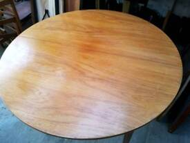 Vintage Retro Mid Century 60s 70s Dining Table Extends