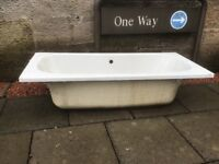 1700mm Bath with Centre Tap Holes
