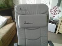 Isabella camping chair with footrest