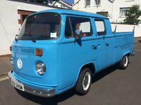 VW Type 2 Double cab pick-up 1974