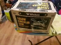 Wicks circular saw