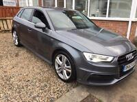 New shape Audi A3 tdi s line