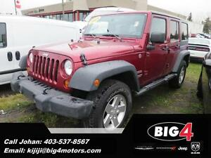2013 Jeep Wrangler Unlimited Sport, Hard Top,
