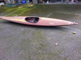 Fibreglass Kayak