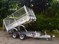 Tipper trailer 8x5,6 Dale kane tipper 3 ton