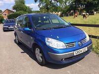 2004 Renault Grand Scenic 1,9 litre diesel 5dr 7 seater