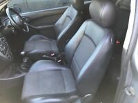 Ford Focus Black half leather seats and door cards - from a 3 door car