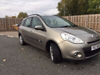2009 Renault Clio 1.5dci, LOW MILEAGE, only £30 year road tax, 5 month M.O.T