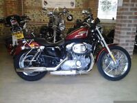 2009 NEAR SHOWROOM CONDITION HARLEY DAVIDSON XL883L SERVICE HISTORY, LOTS OF CHROME