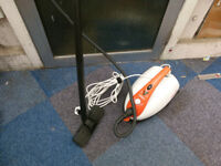 polty steam cleaner with all tools in excelent condition