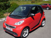 2013 Smart for two Diesel Softtouch No Road tax Smart history 70-80mpg Alloys Power steering New MOT