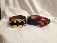Superhero buckle belts
