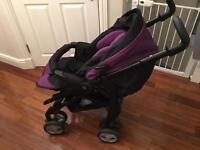 Silvercross purple stroller