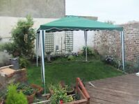 gazebo 3m x 3m like new