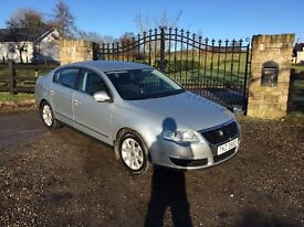 2007 VW VOLKSWAGEN PASSAT TDI SILVER MANUAL DIESEL **LOVELY CAR** WELL MAINTAINED**