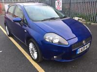 2009 fiat punto grant 1.4 petrol manual long mot low Mileage run very smooth very clean in and out