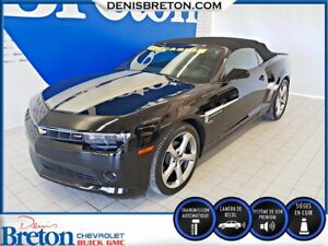 2014 Chevrolet CAMARO LT 2LT CUIR CONVERTIBLE GROUPE RS!!