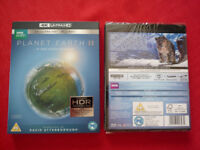 Planet Earth 2 4K Blu Ray/Blu Ray 4 disc set SEALED