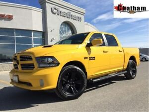 2016 Ram 1500 Sport/ GPS NAV/ SUNROOF/ BACKUP CAMERA/$119 WKLY