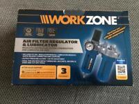 Workzone Air Filter Regulator and Lubricator