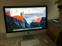 "iMac 27"" Core i5 2.66GHz Quad Core 12 Gb RAM like new"