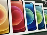 iPhone 12 128gb Unlocked brands new box 1 year warranty