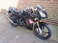 lexmoto xtrs 125 great running bike 2013 plate