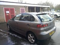 2004 Seat ibiza 1.2 petrol spares or easy repair £100