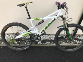 Hi spec cannondale mountain bike / swap alloys