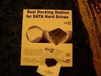 Dual SATA HDD Docking Station
