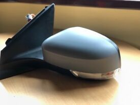 Ford Mondeo 2010-2014 Wing Mirror Electric Heated Primed Passenger Side