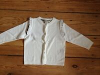 Brand New Without Tags BURBERRY Girl Cardigan White 2Years/ 86cm