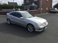 2005 MERCEDES C220 CDI COUPE SPORT EDITION AUTOMATIC MAY PART EXCHANGE