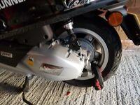 Vespa Piaggio Primevera. In great condition. One scratch qouted at £70 to fix
