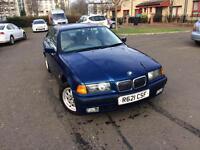 BMW E36 316i manual in rare blue...quick sale!