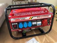 6500w Petrol Generator (3x220v 1x380v)