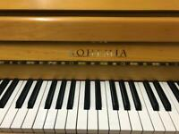 Bohemia/petrof upt piano. *FREE DELIVERY stool and courtesy tuning*