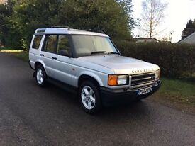 Land Rover Discovery Td5 manual 125 FSH non sunroof spring suspension just had £900 OF WORK DONE