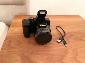 HARDLY USED, NIKON COOLPIX B600 DIGITAL CAMERA,EXCELLENT CONDITION FULL WORKING ORDER,CAN DELIVER