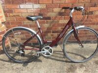 """Dawes Mojave Ladies city cruiser Bike Cycle - 17"""" Frame - 700c Wheels - Can Deliver Local York FREE"""