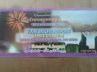 Van Morrison & Jamie Cullum. Glastonbury Abbey Extravaganza. Two tickets to this sold out event. £70
