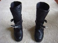 Motorbike boots - Sidi Adventure Gore-Tex, Size 9