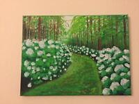 Acrylic painting/ready to hang